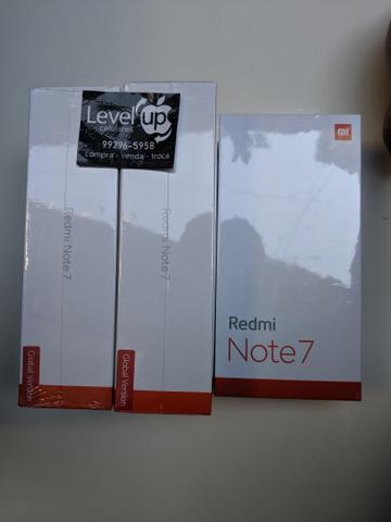 Redmi Note 7 64 GB 4 de RAM. Novo Lacrado garantia e entrega na hora