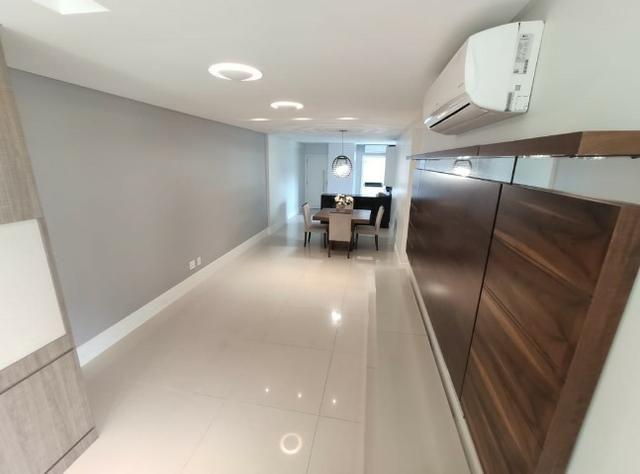 Apartamento Semi Mobiliado no Brava Beach, 4 suites 3 vagas, praia brava Itajai! - Foto 7