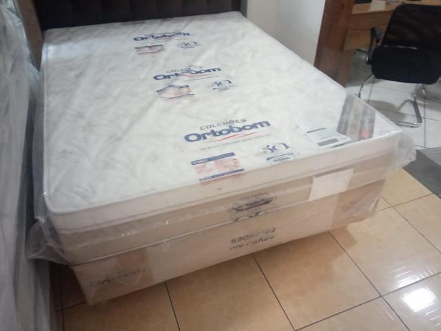 Cama Box casal Ortobom - Foto 2