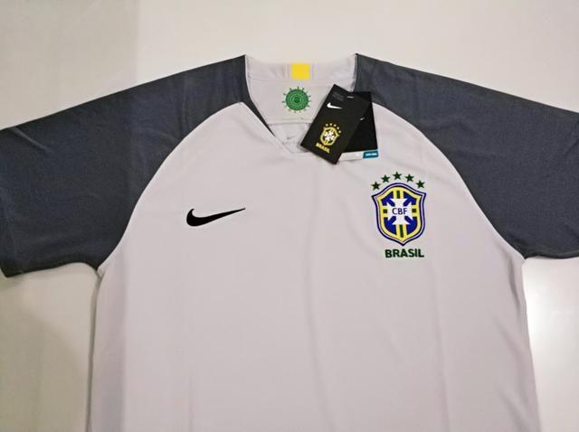 Camisa Brasil Goleiro Cinza 18/19 - Foto 3