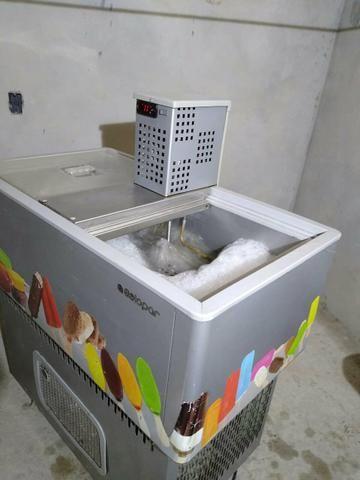 Maquinario de fabricação de picolé 8 formas