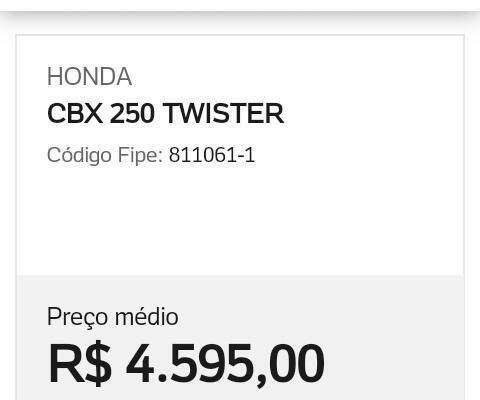 Twister 250cc CBX - Foto 6