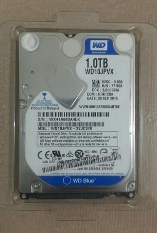HD 1TB WD blue SATA 2.5 Notebook