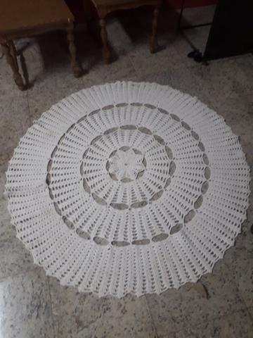 Tapete tricotado tamanho grande