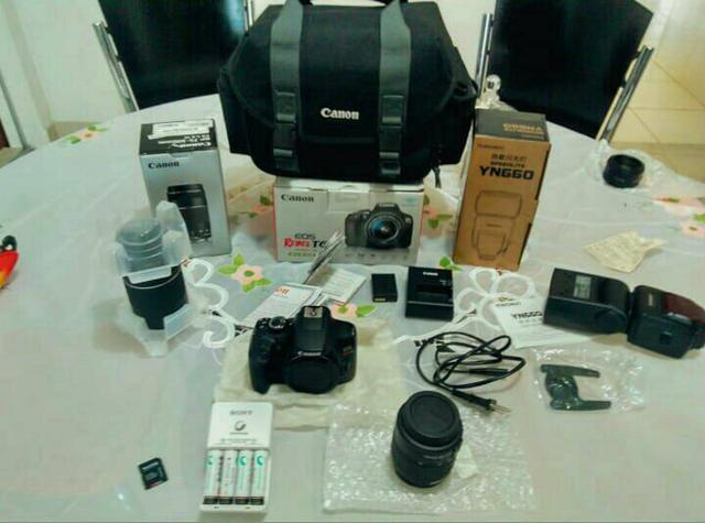 Canon T6 + flash YN 660