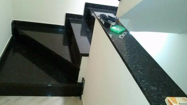 Peitoril e Escadaria