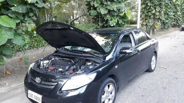 Toyota Corolla XEI-1.8 Flex com GNV 5aGeração com central Multimídia.Muito novo! - Foto 8