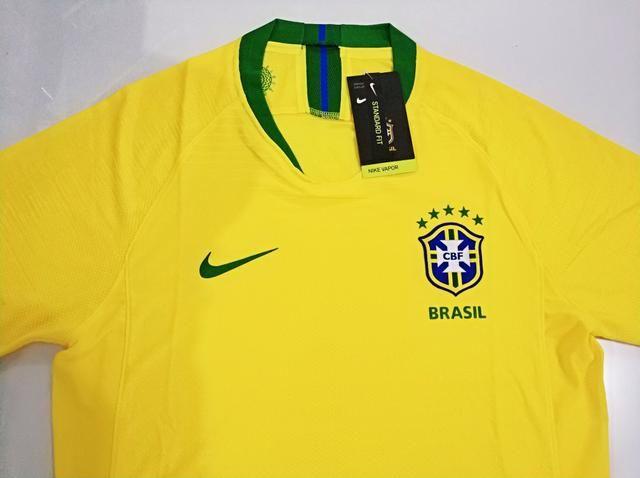 Camisa Brasil I Player 18/19