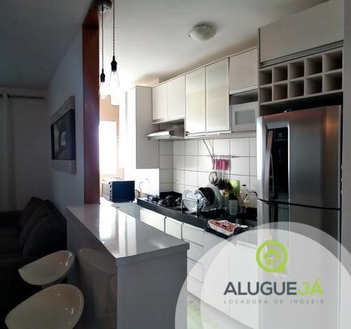 Apartamento 2 quartos mobiliado, ótima localização edf. Villaggio Pompeia centro norte - Foto 5