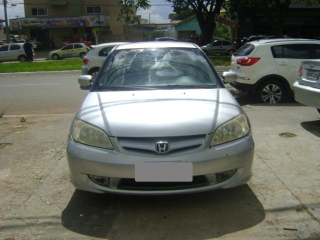 Honda Civic 1.7 Ex Automático 2005/2005 Simone * - Foto 3