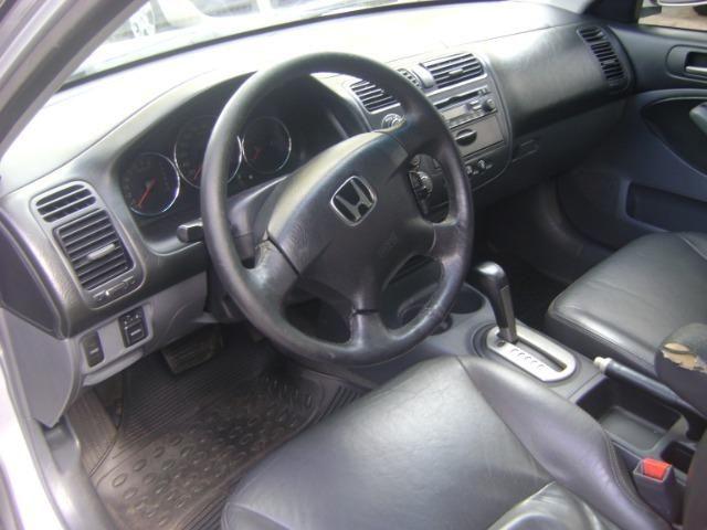 Honda Civic 1.7 Ex Automático 2005/2005 Simone * - Foto 13