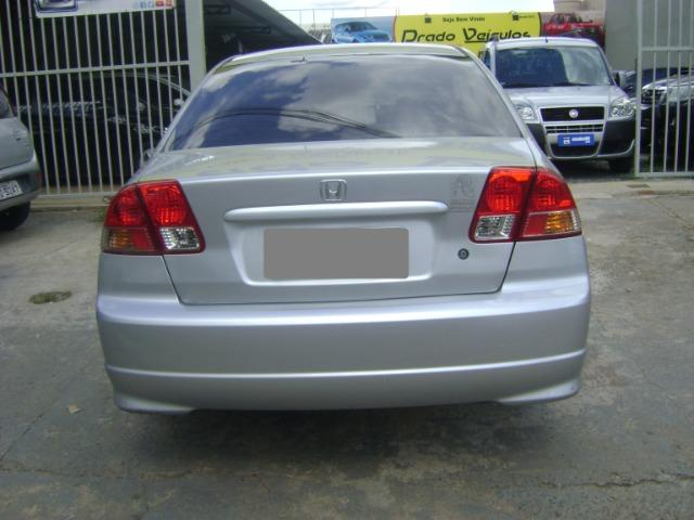 Honda Civic 1.7 Ex Automático 2005/2005 Simone * - Foto 2