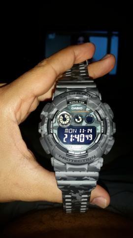 192e3797563 Casio G-Shock GD 120CM-8dr Camuflado - Bijouterias