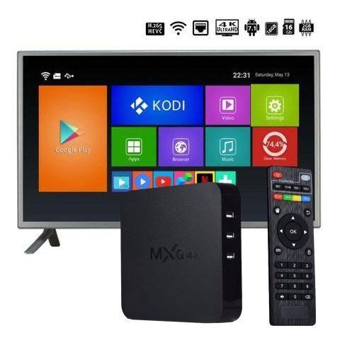 Tv Box Smart Mxq 4k Netflix Youtube Kodi 2gb ram 16gb rom android 7.1