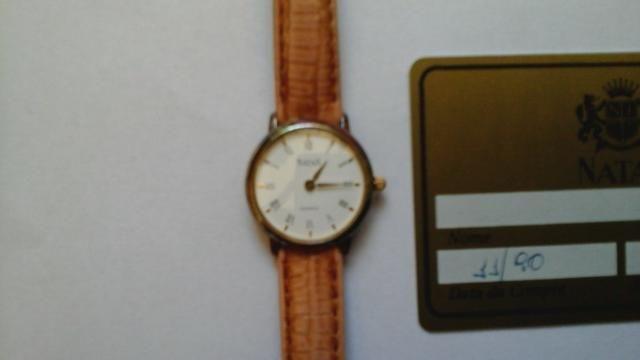 0f6f52b46c3 Relógio Feminino Natan Quartz Pulseira De Couro para coleção ...