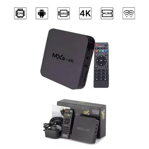 Tv Box Smart Mxq 4k Netflix Youtube Kodi 2gb ram 16gb rom android 7.1 - Foto 5
