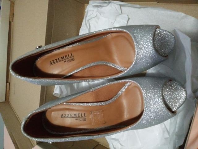 f8643e185fc Sapato Azzemell Vizzano prata - Roupas e calçados - Mal Hermes