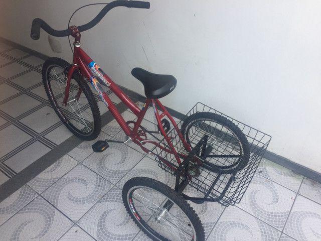 Triciclo Aro 26 - Nunca usado - Foto 2