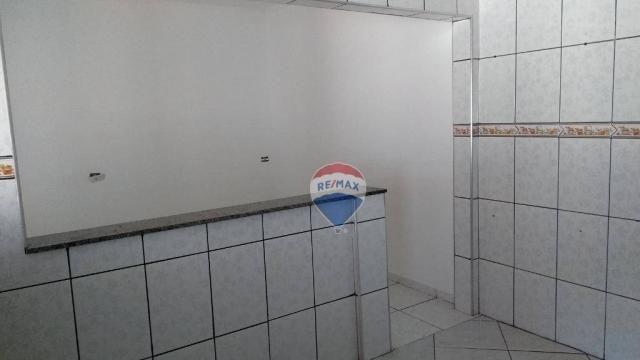 Casa 02 dormitórios e/ou salão comercial, locação, R$ 900,00 cada, Cosmópolis, SP - Foto 12