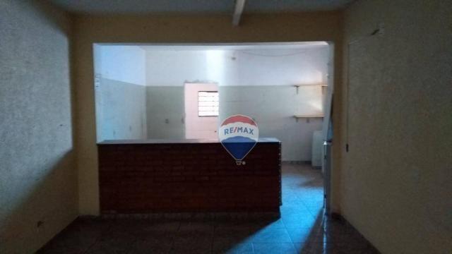 Casa 02 dormitórios e/ou salão comercial, locação, R$ 900,00 cada, Cosmópolis, SP - Foto 18