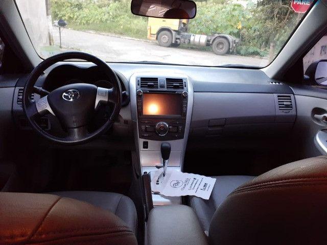 Toyota Corolla GLI 1.8 Flex Automático 2013 - Foto 9