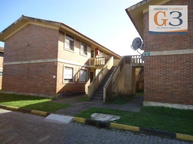 Apartamento com 1 dormitório para alugar, 38 m² por R$ 500,00/mês - Areal - Pelotas/RS