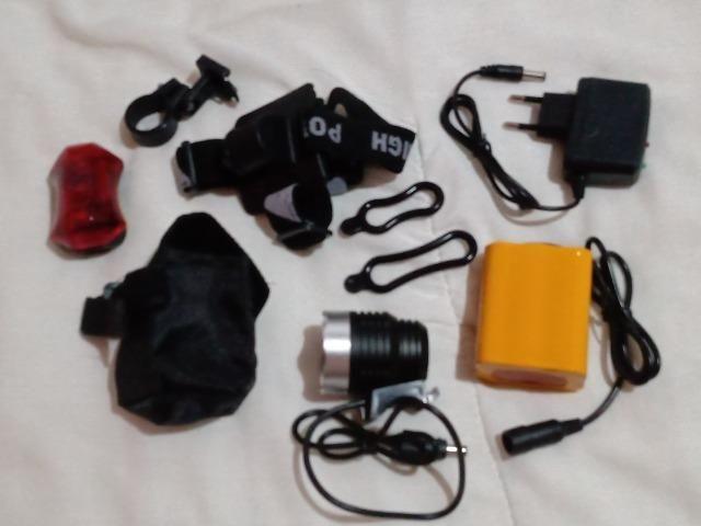 Lanterna de LED Recarregável - Foto 2