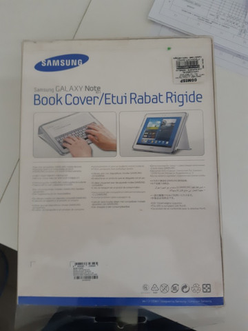 Capa Original Samsung Book Over Samsung Galaxy Note 10.1 - Foto 5