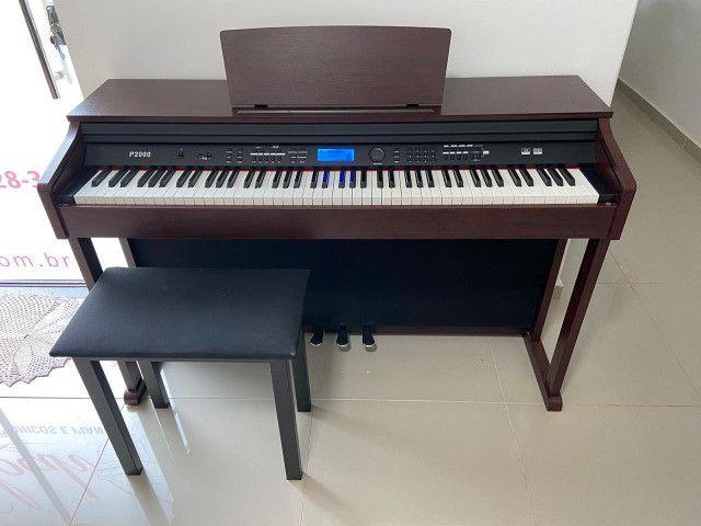 Piano Digital Digital Acordes 88 teclas novo  - Foto 4