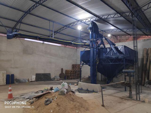 Máquinas para armazenar milho