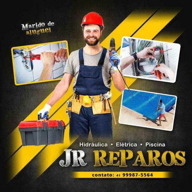Problemas na sua casa.. chama JR Reparos...