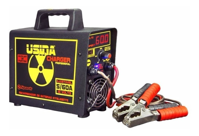 Carregador De Bateria Charger Profissional Usina Spark (60 amp / 12v) - Caruaru (PE)