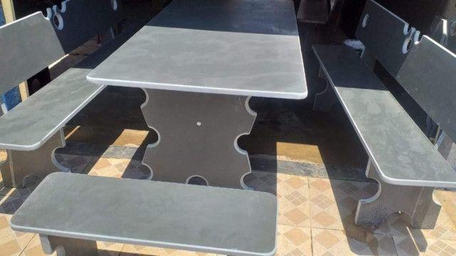 Conjunto de mesa de ardósia - Foto 3