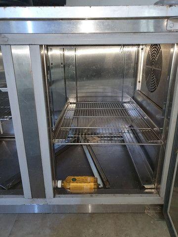 Vendo Balcão Refrigerado inox no estado  - Foto 3