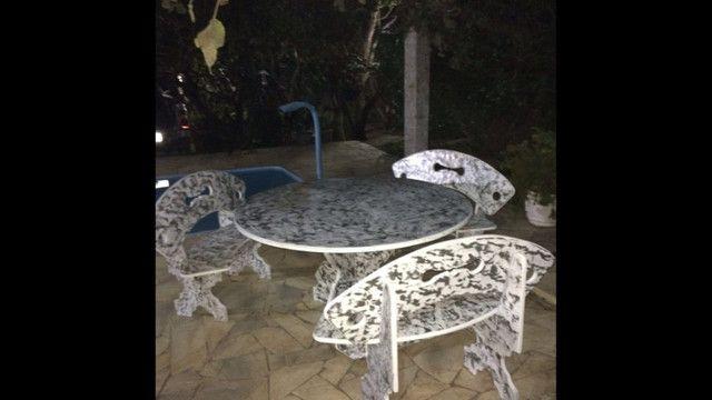 Conjunto de mesa de ardósia - Foto 5