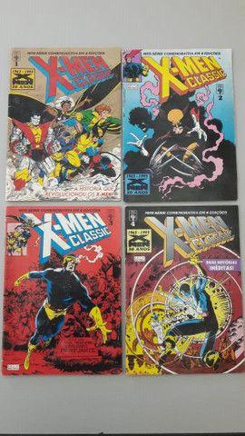 X-Men Classis - 6 Revistas com Historias Classicas
