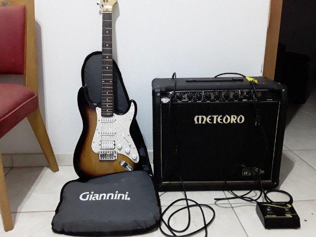 Cubo + guitarra