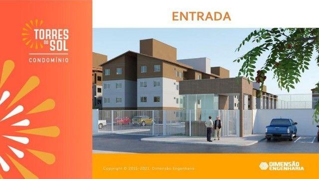 construção dimensão// apartamento, torres do sol- 2 quartos - Foto 6