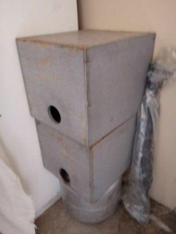 Caixa multiuso de madeira - Foto 5