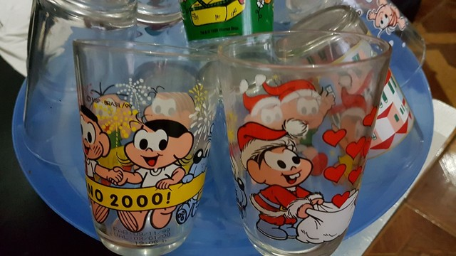 Lindos copos de coleção vintagem  nunca usados barato - Foto 2