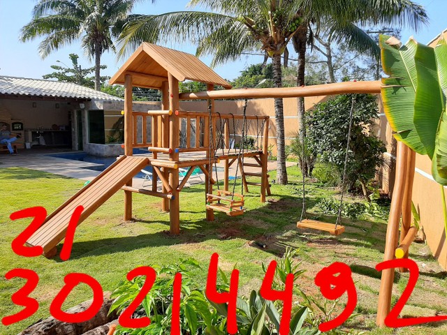 Playground madeira em Búzios 2130214492