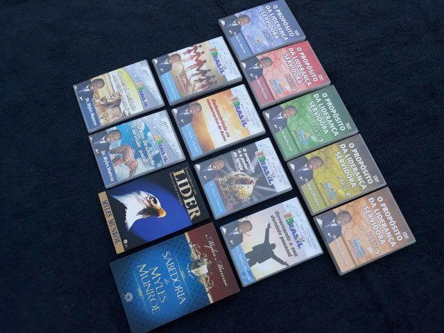 Coleção com 11 DVDs + 2 Livros Pastor Myles Munroe - Foto 6
