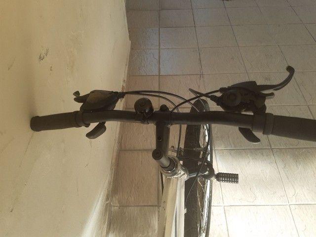 Bicicleta aro 26 aluminio roda aero cubo - Foto 6
