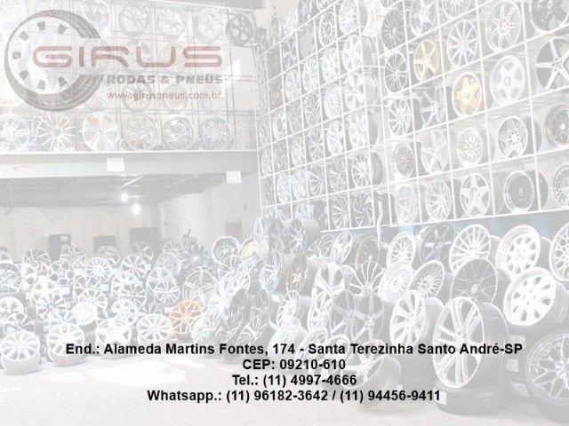 Rodas Amarok Aro 22X9 R87 Preto C/Diamante 5X120 - Foto 3