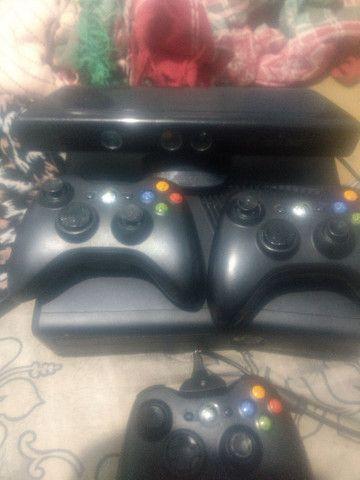 Vendo Xbox completo e destravado - Foto 2