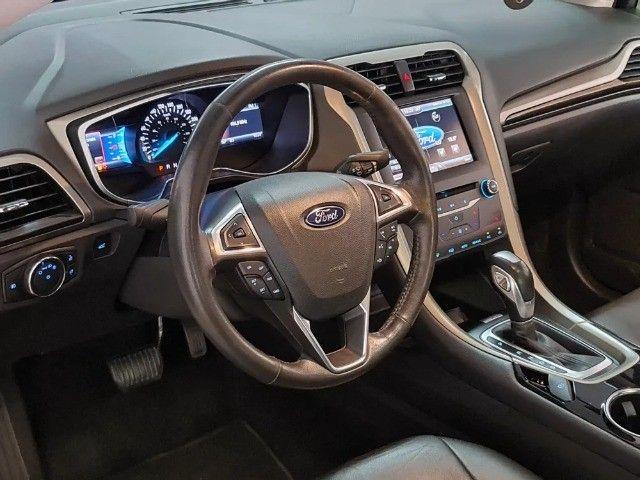 Ford Fusion 2.5 Flex Aut + Teto Solar Mod 2015 - Foto 10