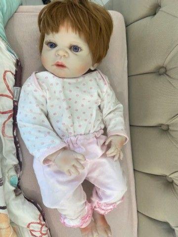 Bebê menina reborn  - Foto 3