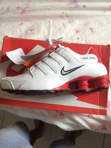 Tênis Nike Shox nz  novo na caixa