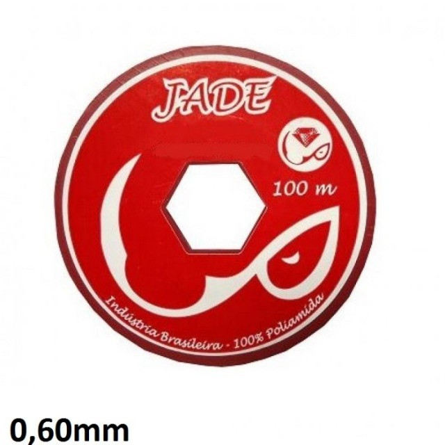 Linha de nylon 0,60mm 100m - Jade