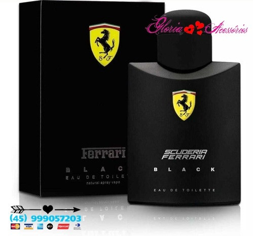 Ferrari Black 125ml Original - Foto 3